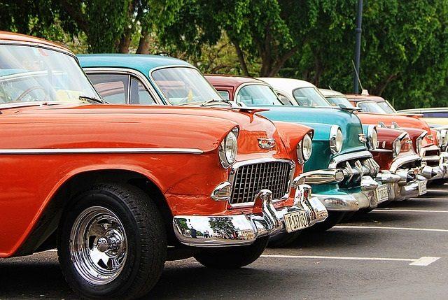 オレンジクラッシクカー