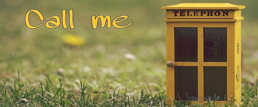黄色い電話ボックス